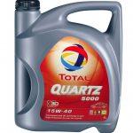 Total Quartz 5000 15W40 Oil in Sri Lanka 4L