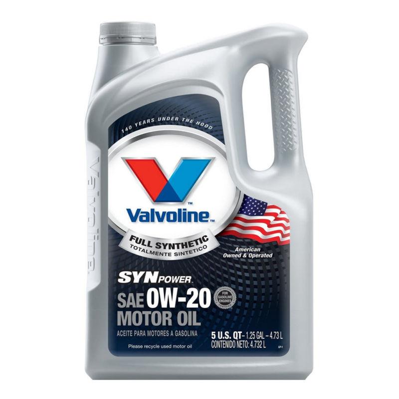 Valvoline synpower 0w 20 by for Valvoline motor oil certification