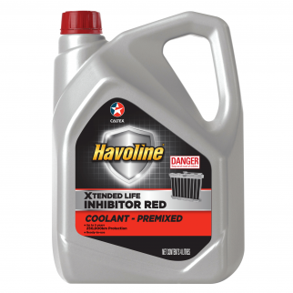 Caltex Havoline Xtended Life Inhibitor Red Pre-Mixed Coolant (510180)