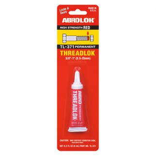 Abro Threadlock Permanent in Sri Lanka (RED) (TL-371) 6ml
